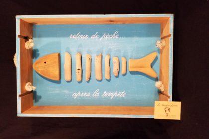 poisson bois flotté
