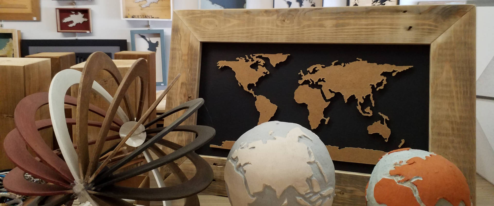 intérieur atelier concarneau déco recyclée